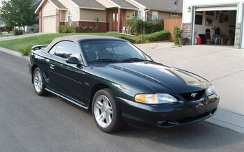 1998 Ford Mustang GT Convertible for sale 100980068