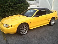 1998 Ford Mustang Cobra Convertible for sale 101012070