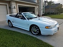 1998 Ford Mustang Cobra Convertible for sale 101018548