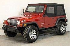 1998 Jeep Wrangler 4WD SE for sale 100956331