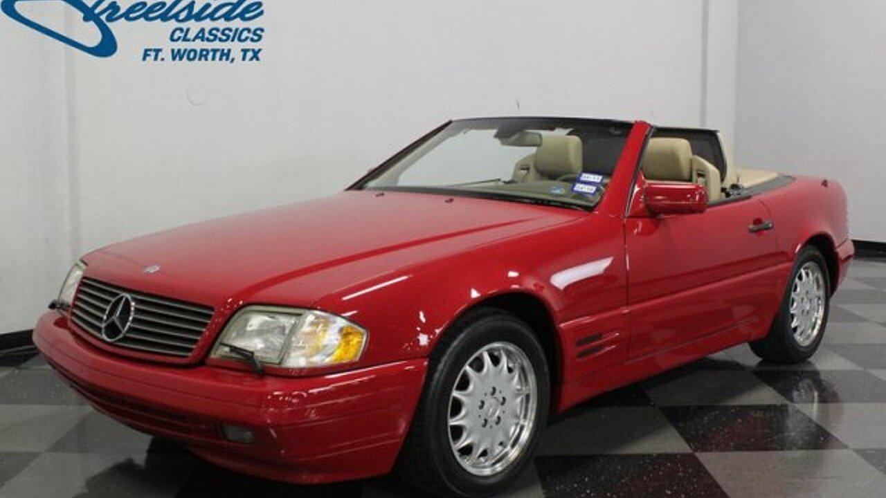 1998 Mercedes-Benz SL500 for sale near Fort Worth, Texas ...