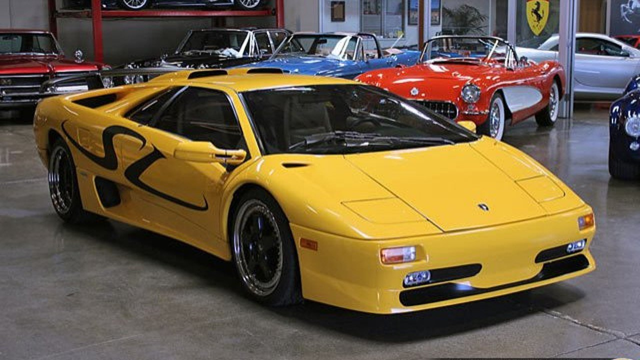 1998 lamborghini diablo sv coupe for sale near san carlos california 94070 classics on autotrader. Black Bedroom Furniture Sets. Home Design Ideas
