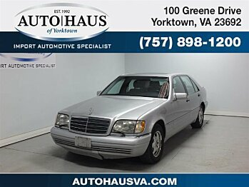 1998 mercedes-benz S500 Sedan for sale 100966943