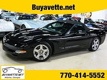 1999 Chevrolet Corvette Convertible for sale 100821524