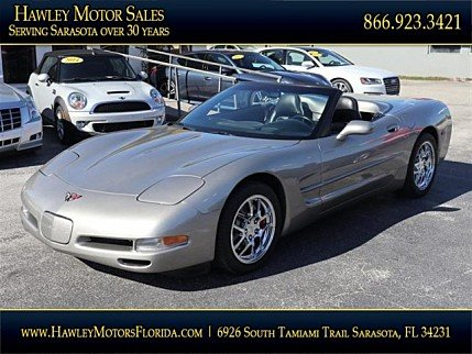 1999 Chevrolet Corvette Convertible for sale 100931709