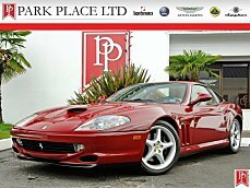 1999 Ferrari 550 Maranello Coupe for sale 100783498