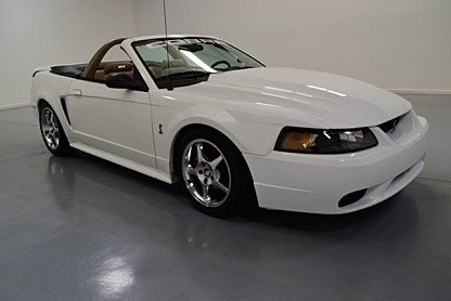 1999 Ford Mustang Cobra Convertible for sale 100813413