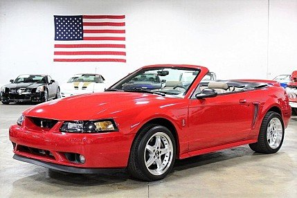 1999 Ford Mustang Cobra Convertible for sale 101014310