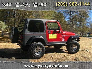 1999 Jeep Wrangler 4WD Sport for sale 100891120
