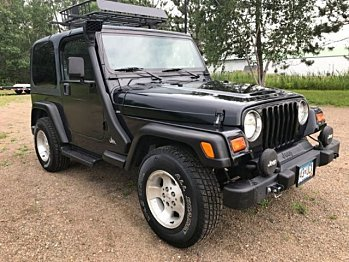1999 Jeep Wrangler for sale 100951166