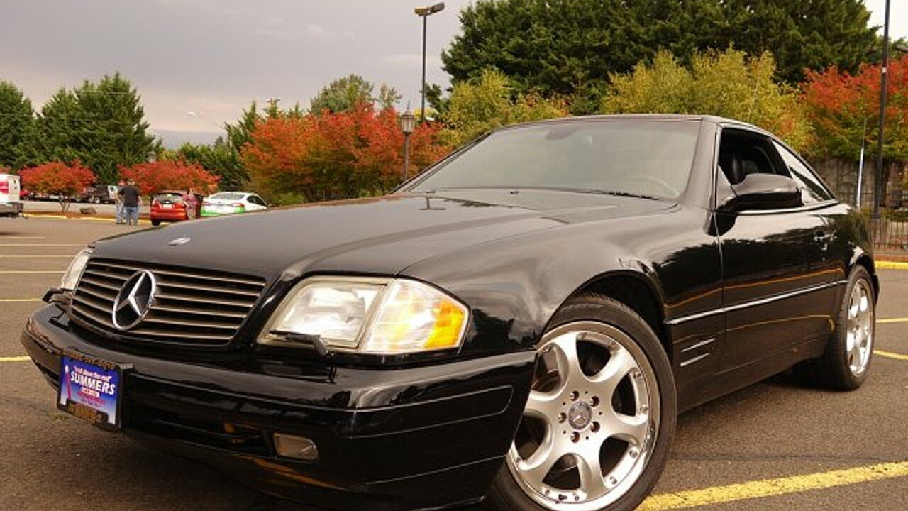 1999 Mercedes-Benz SL500 for sale 101036784