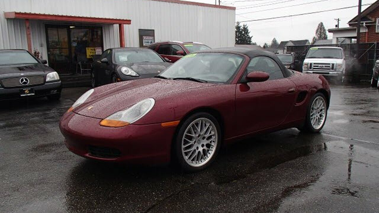 1999 Porsche Boxster for sale 100943007