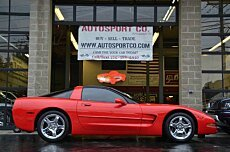 1999 chevrolet Corvette Coupe for sale 101006300