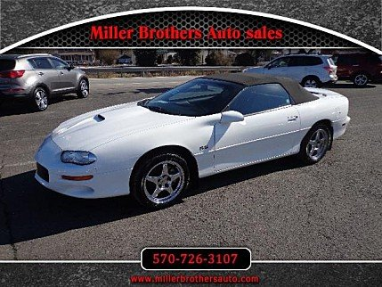 2000 Chevrolet Camaro Z28 Convertible for sale 100847922