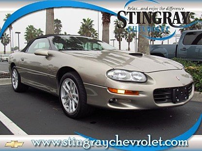 2000 Chevrolet Camaro Z28 Convertible for sale 100960736
