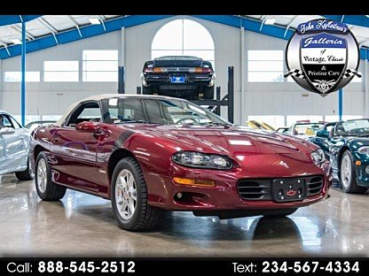2000 Chevrolet Camaro Z28 Convertible for sale 101003357