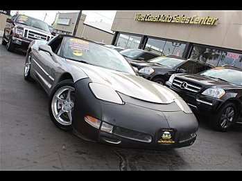 2000 Chevrolet Corvette Coupe for sale 100943691