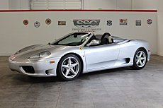 2000 Ferrari 360 Spider for sale 100991134
