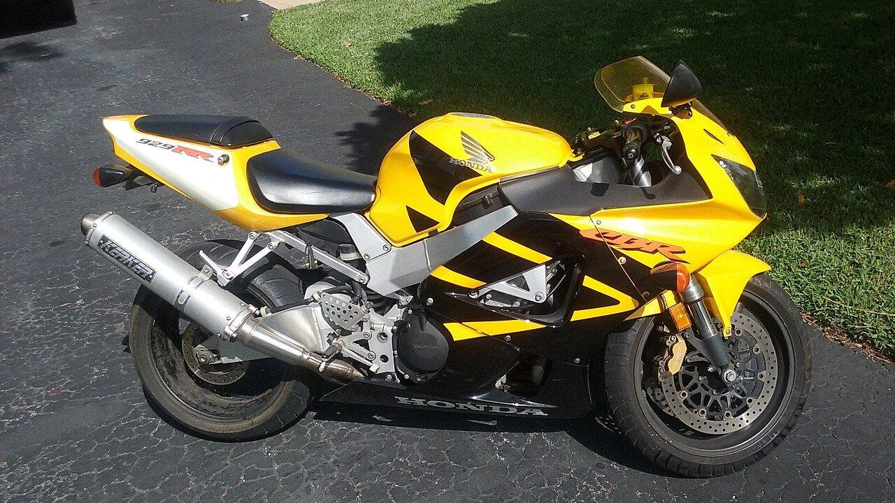 2000 Honda CBR929RR for sale 200460955