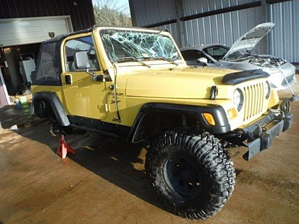 2000 Jeep Wrangler 4WD Sport for sale 100856590