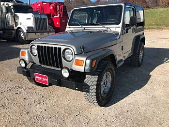 2000 Jeep Wrangler 4WD Sport for sale 101054722