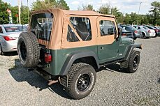 2000 Jeep Wrangler 4WD SE for sale 100883232