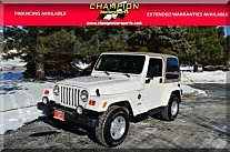 2000 Jeep Wrangler 4WD Sahara for sale 100947869