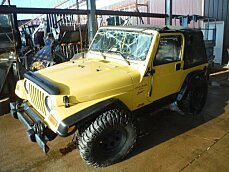 2000 Jeep Wrangler 4WD Sport for sale 100982666