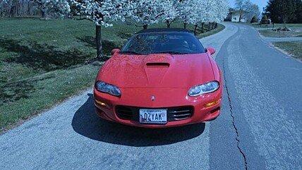 2000 chevrolet Camaro Z28 Convertible for sale 100971237