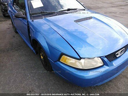 2000 ford Mustang Coupe for sale 101015996