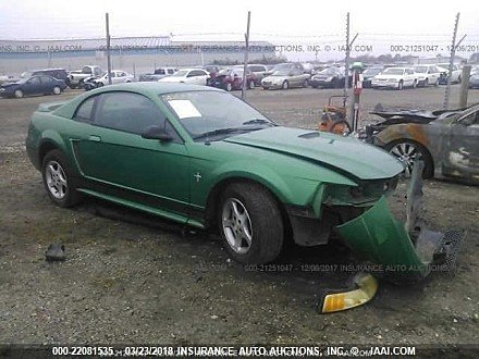 2000 ford Mustang Coupe for sale 101016017