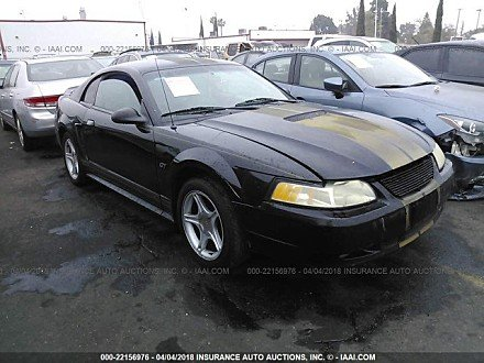 2000 ford Mustang GT Coupe for sale 101016037