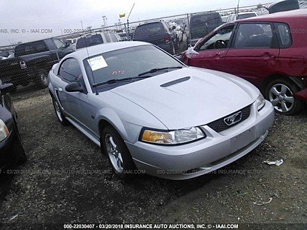 2000 ford Mustang GT Coupe for sale 101016042