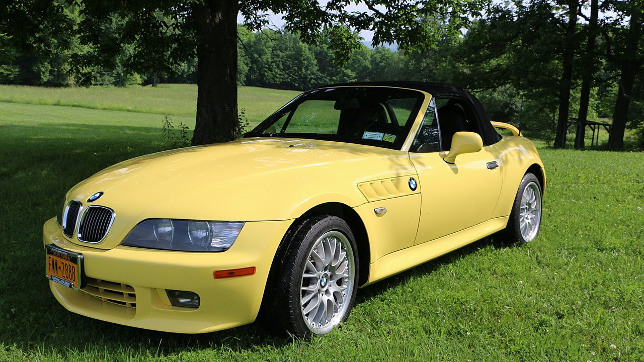 2001 Bmw Z3 3 0i Roadster For Sale Near Belmont New York