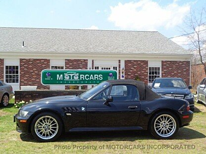 2001 BMW Z3 3.0i Roadster for sale 100984668