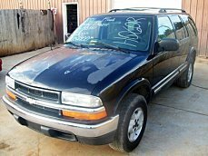 2001 Chevrolet Blazer 4WD 4-Door for sale 100783886