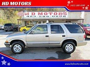 2001 Chevrolet Blazer 4WD 4-Door for sale 101051806