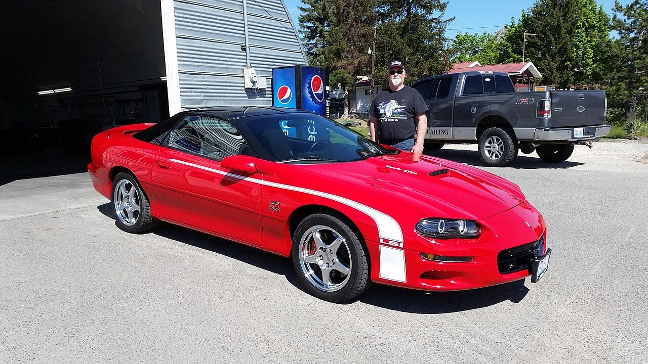 2001 Chevrolet Camaro Z28 Coupe for sale 100870800