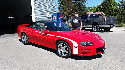 2001 Chevrolet Camaro Classic Cars for Sale  Classics on Autotrader
