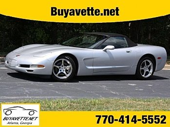 2001 Chevrolet Corvette Convertible for sale 100767481