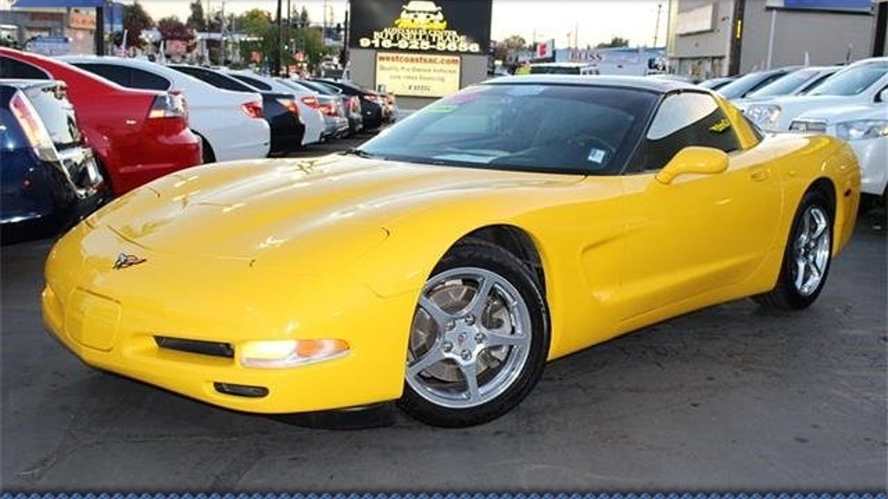 2001 Chevrolet Corvette Coupe for sale 100923537