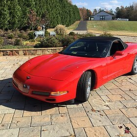 2001 Chevrolet Corvette Convertible for sale 100858407