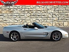 2001 Chevrolet Corvette Convertible for sale 100915622