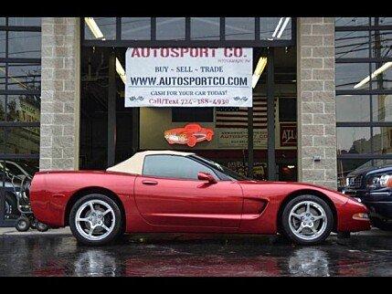 2001 Chevrolet Corvette Convertible for sale 101006312