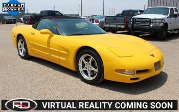 2001 Chevrolet Corvette Convertible for sale 101009584