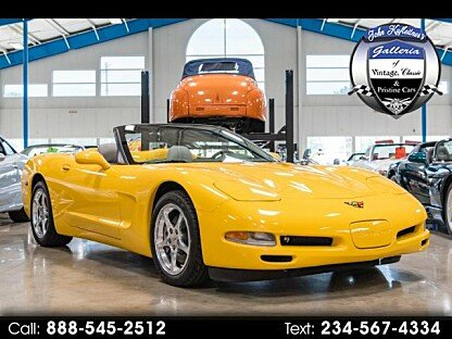 2001 Chevrolet Corvette Convertible for sale 101014599