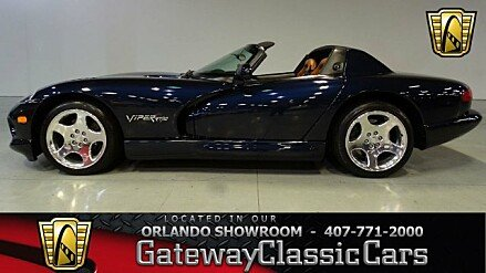 2001 Dodge Viper RT/10 Roadster for sale 100965366