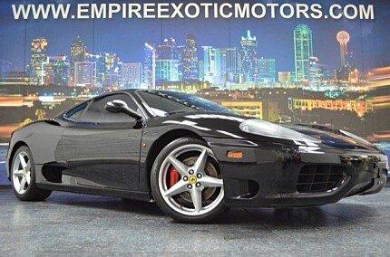 2001 Ferrari 360 for sale 100788593