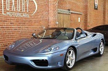 2001 Ferrari 360 Spider for sale 100817816