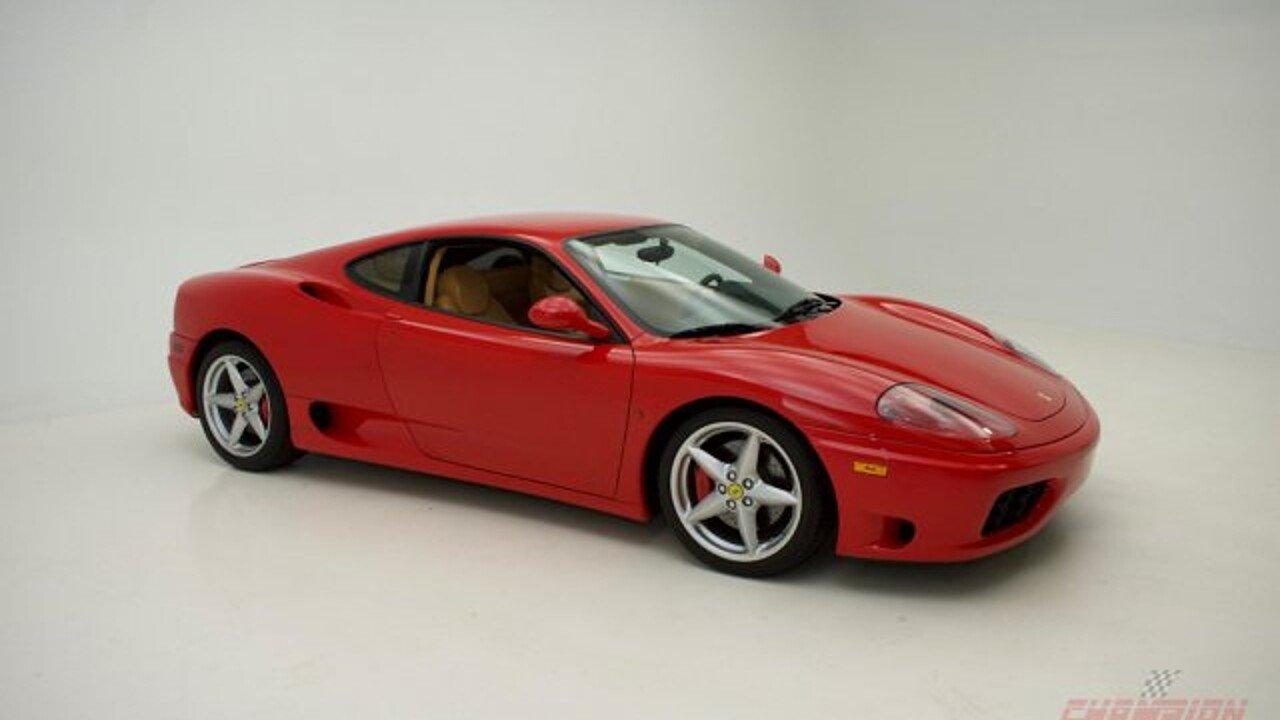 2001 Ferrari 360 Modena for sale 101003538